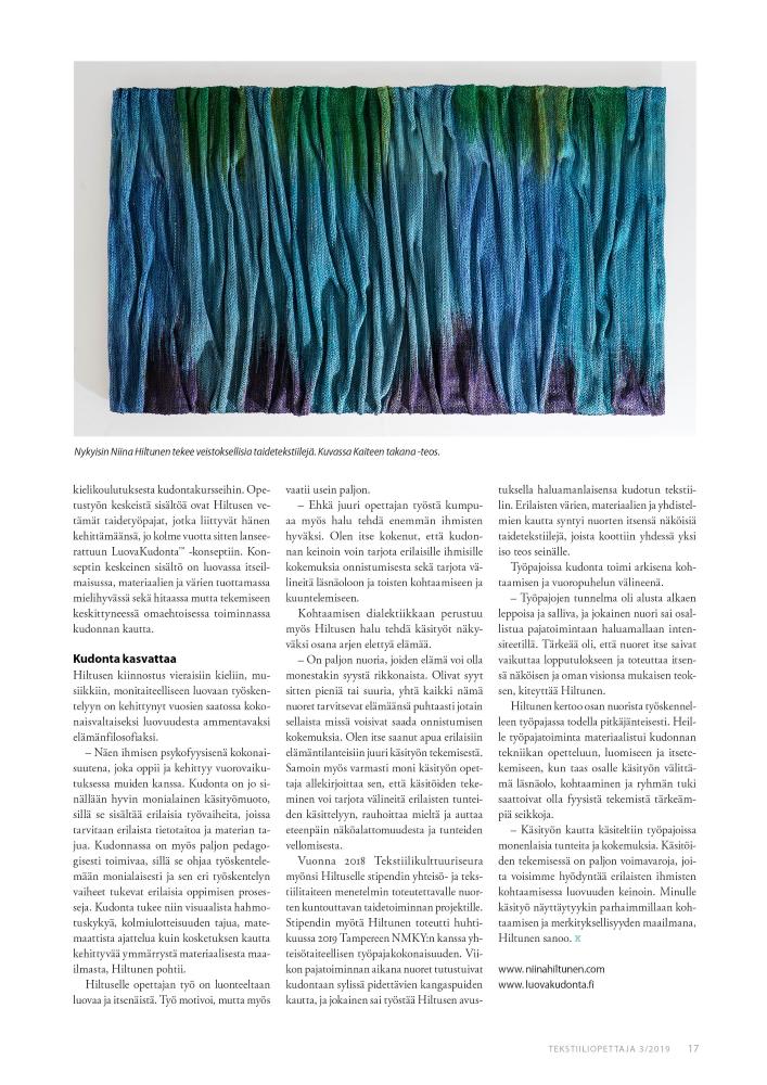 Tekstiiliopettaja_3_2019_sivu_17_Niina_Hiltunen